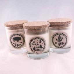 Trio de bougies parfumées ethniques