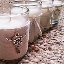 Mini bougies parfumées ethniques