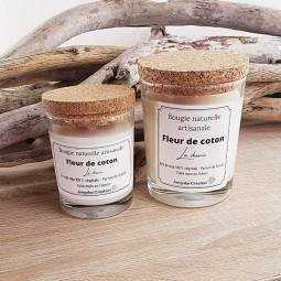 Bougies naturelles avec couvercle en liège