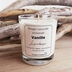 Bougie naturelle parfum vanille