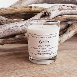 Mini bougie naturelle parfum vanille