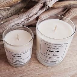 Bougies naturelles parfum vanille