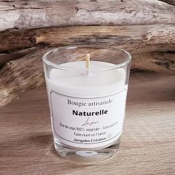 Mini bougie naturelle pure sans parfum