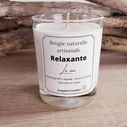 Bougie naturelle parfum relaxation