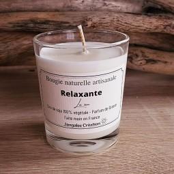 Petite bougie parfum lavande/eucalyptus